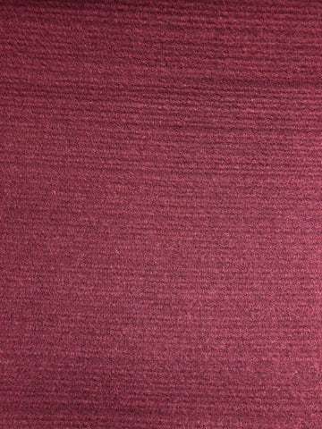 Melton - Burgundy (slightly textured)