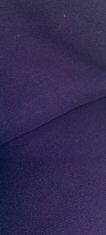 Wool Velour - Plum