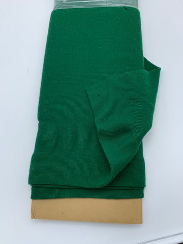 MERINO WOOL RIBBING - GREEN