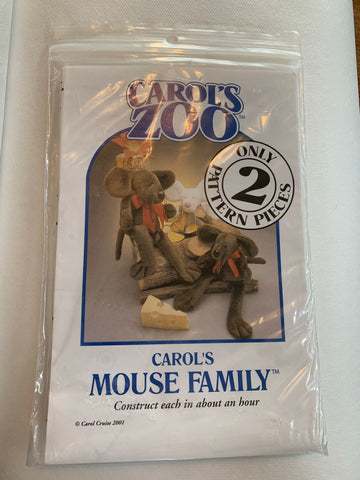 Carol's Zoo MOUSE FAMILY