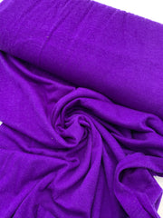 Wool Jersey Knit - Purple