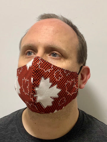 Canada checkered - FACE MASK