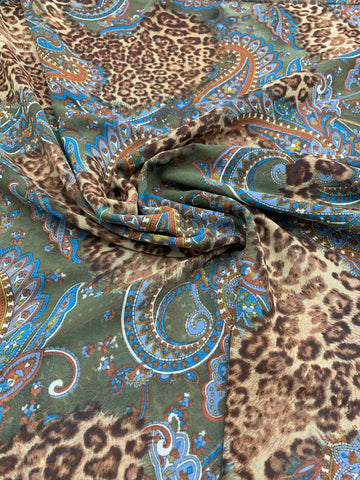 SHEER Animal Paisley