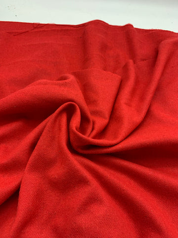 Lightweight Wool Blend  - RED