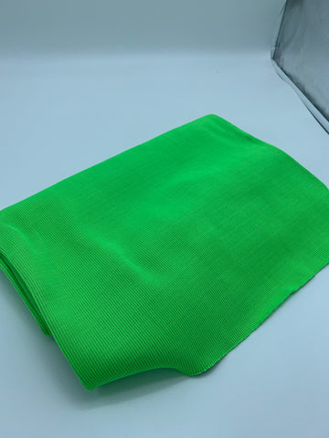HEAVYWEIGHT NYLON RIBBING - NEON GREEN