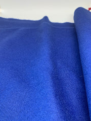 Wool Velour - Royal Blue