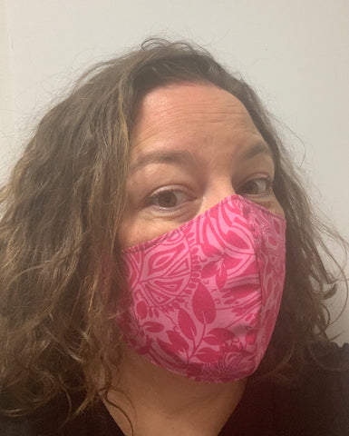 Tiki pink - FACE MASK