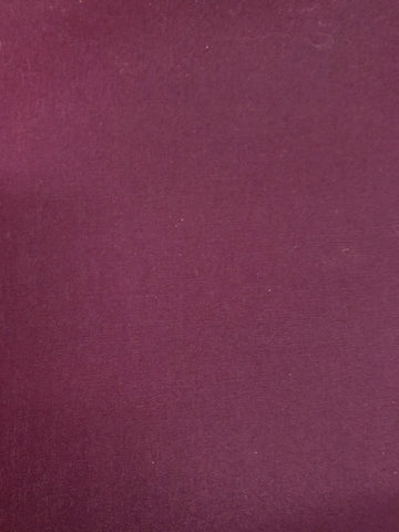Poly Cotton All Weather Poplin - BURGUNDY