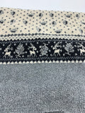 Sherpa Fleece - Reindeer double border print