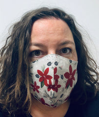 Poinsettia - FACE MASK