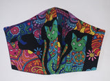 Colourful Cats - FACE MASK