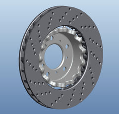BBK Rear Replacement Rotors