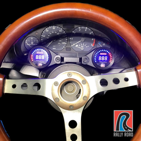 E46 Steering Column Mounted Gauge Pods