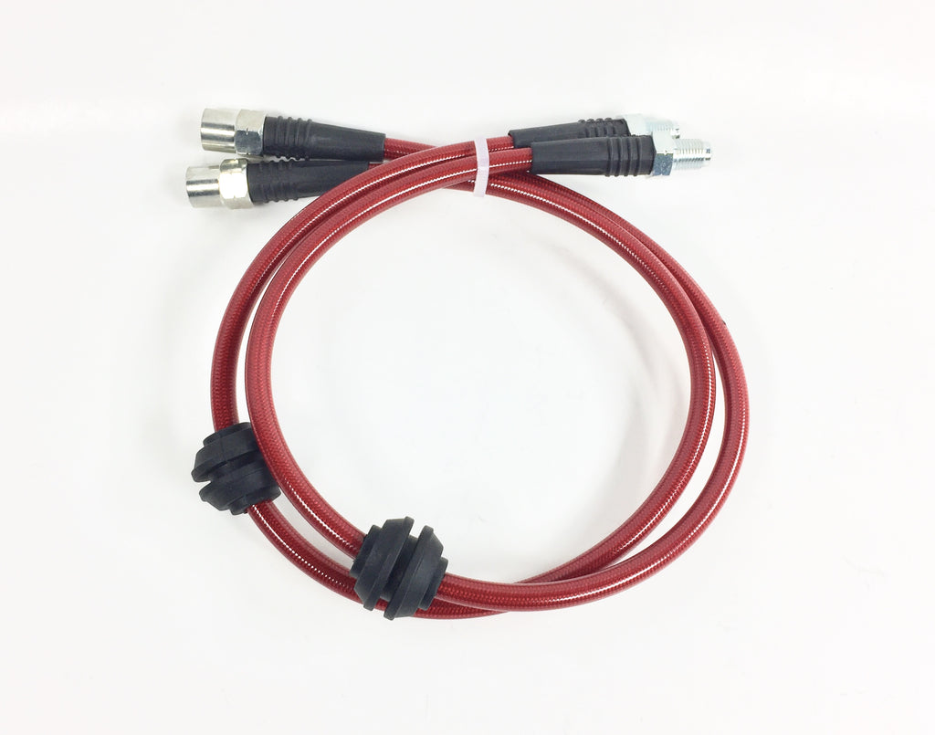 E60 / E61 Front Stainless Brake Lines
