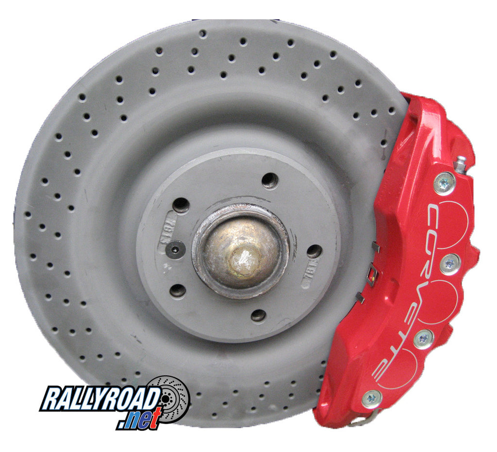 Z06 BBK Front Replacement Rotors for E46 M3