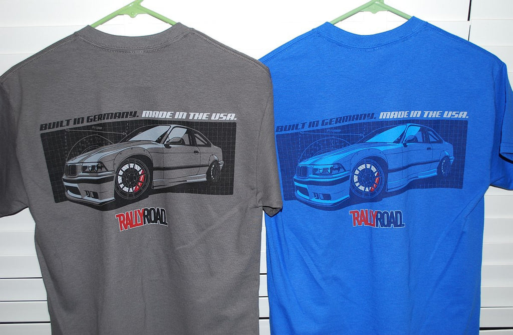 E36 M3 Quot Made In Usa Quot T Shirt Rallyroad