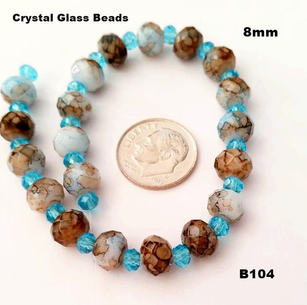 B104 - Elegant Glass Beads