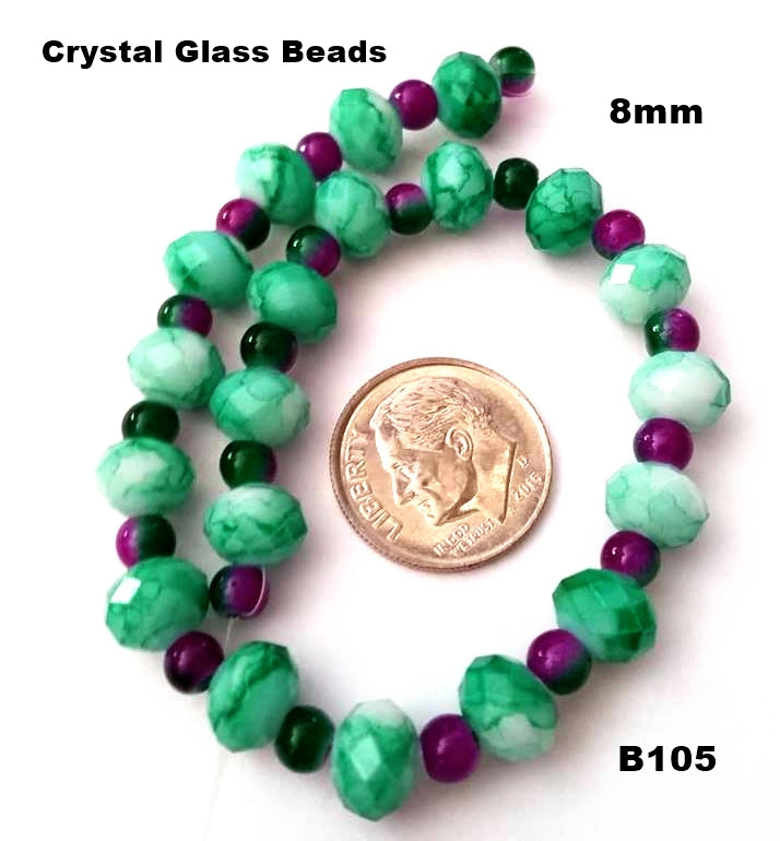 B105 - Elegant Glass Beads