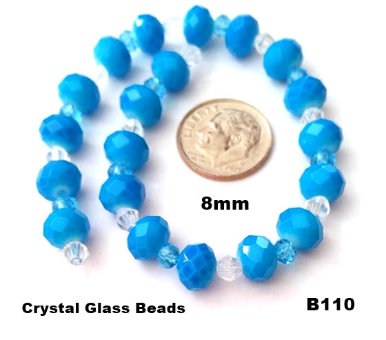 B110 - Elegant Glass Beads