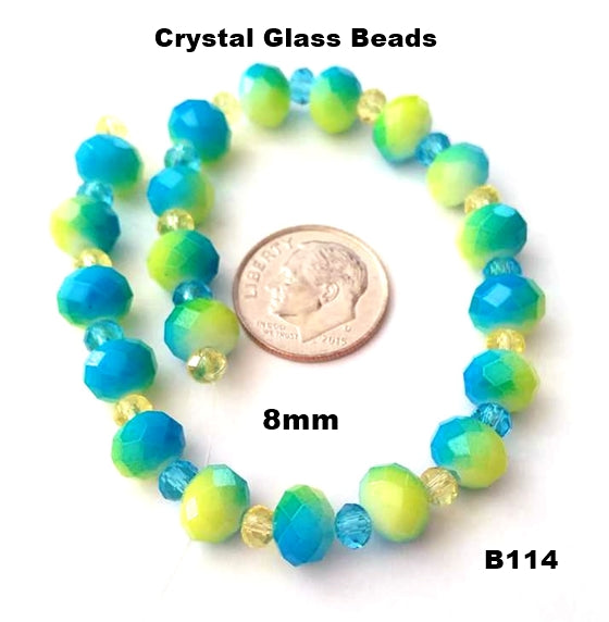 B114 - Elegant Glass Beads