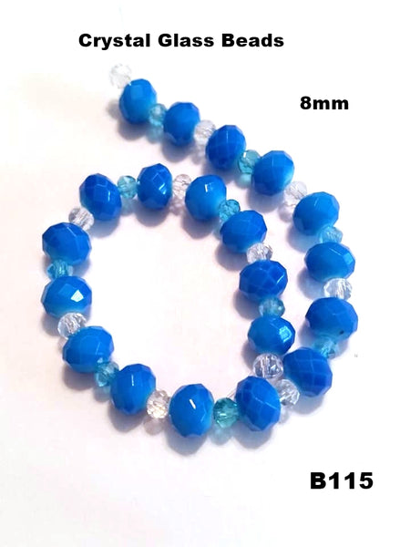 B115 - Elegant Glass Beads