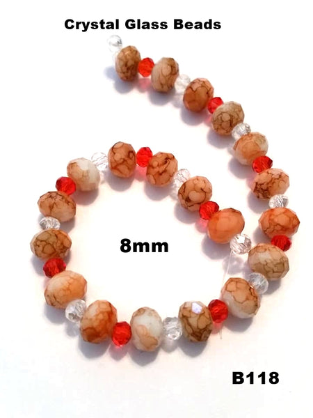B118 - Elegant Glass Beads