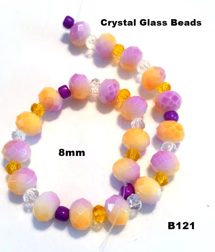 B121 - Elegant Glass Beads
