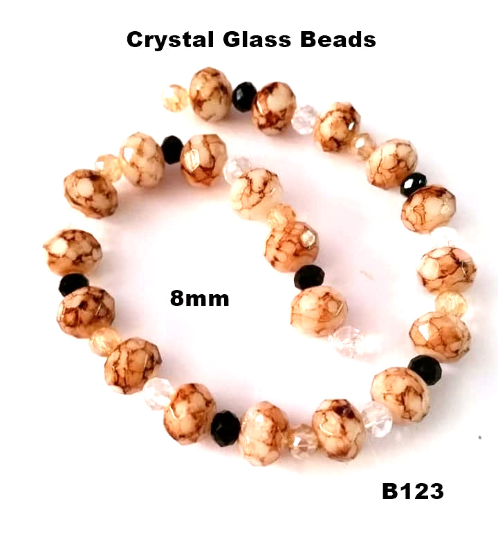 B123 - Elegant Glass Beads