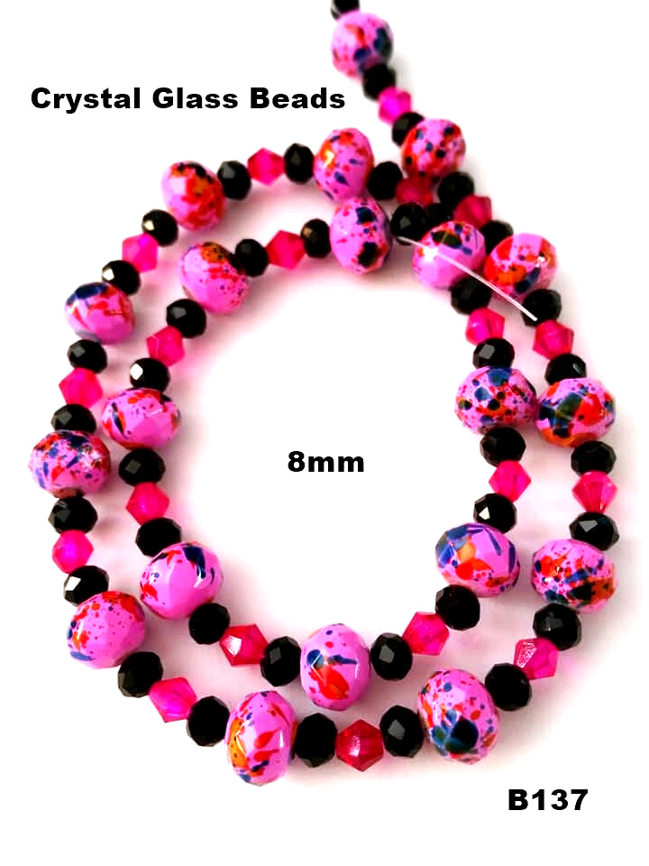 B137 - Elegant Glass Beads