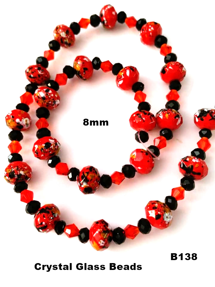 B138 - Elegant Glass Beads