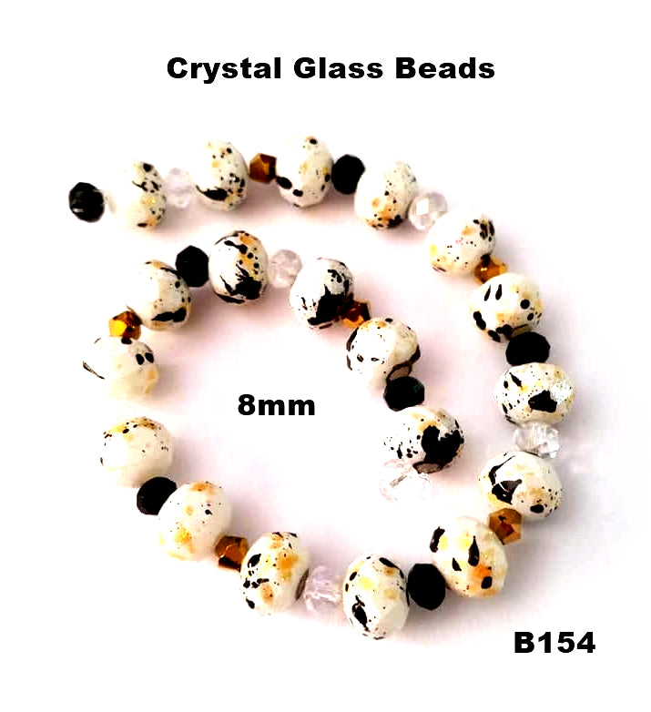 B154 - Elegant Glass Beads