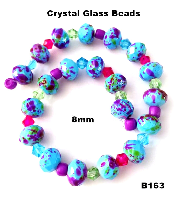 B163 - Elegant Glass Beads