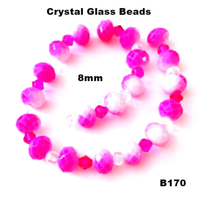 B170 - Elegant Glass Beads