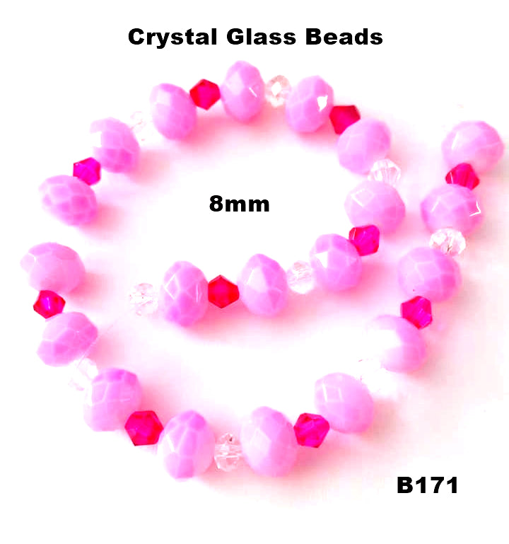 B171 - Elegant Glass Beads