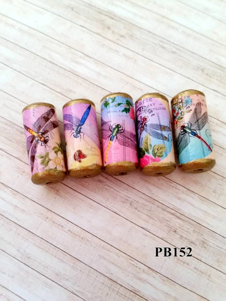 PB152 - Beautiful Dragonfly Beads