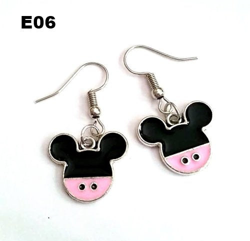 E06 - Mouse Earrings