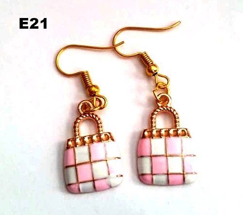 E21 - Purse Earrings