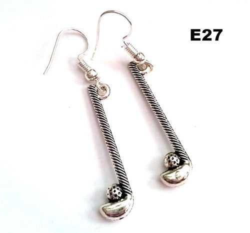 E27 - Golf Sticks Earrings