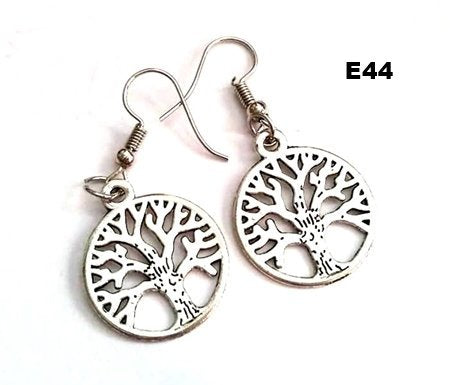 E44 - Tree Earrings