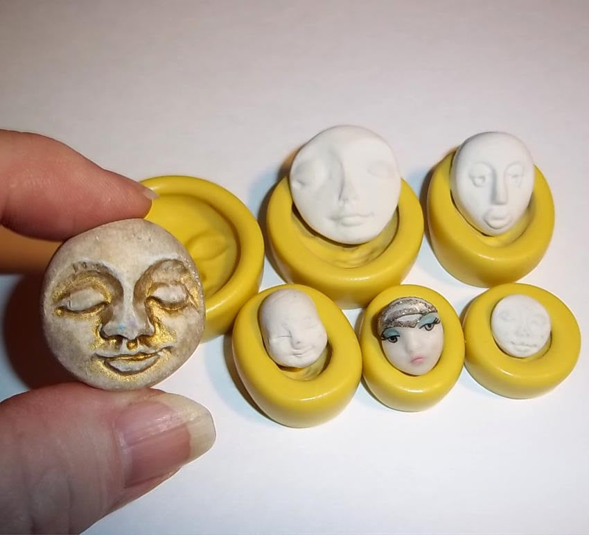 L107 - Face Molds - Set/6