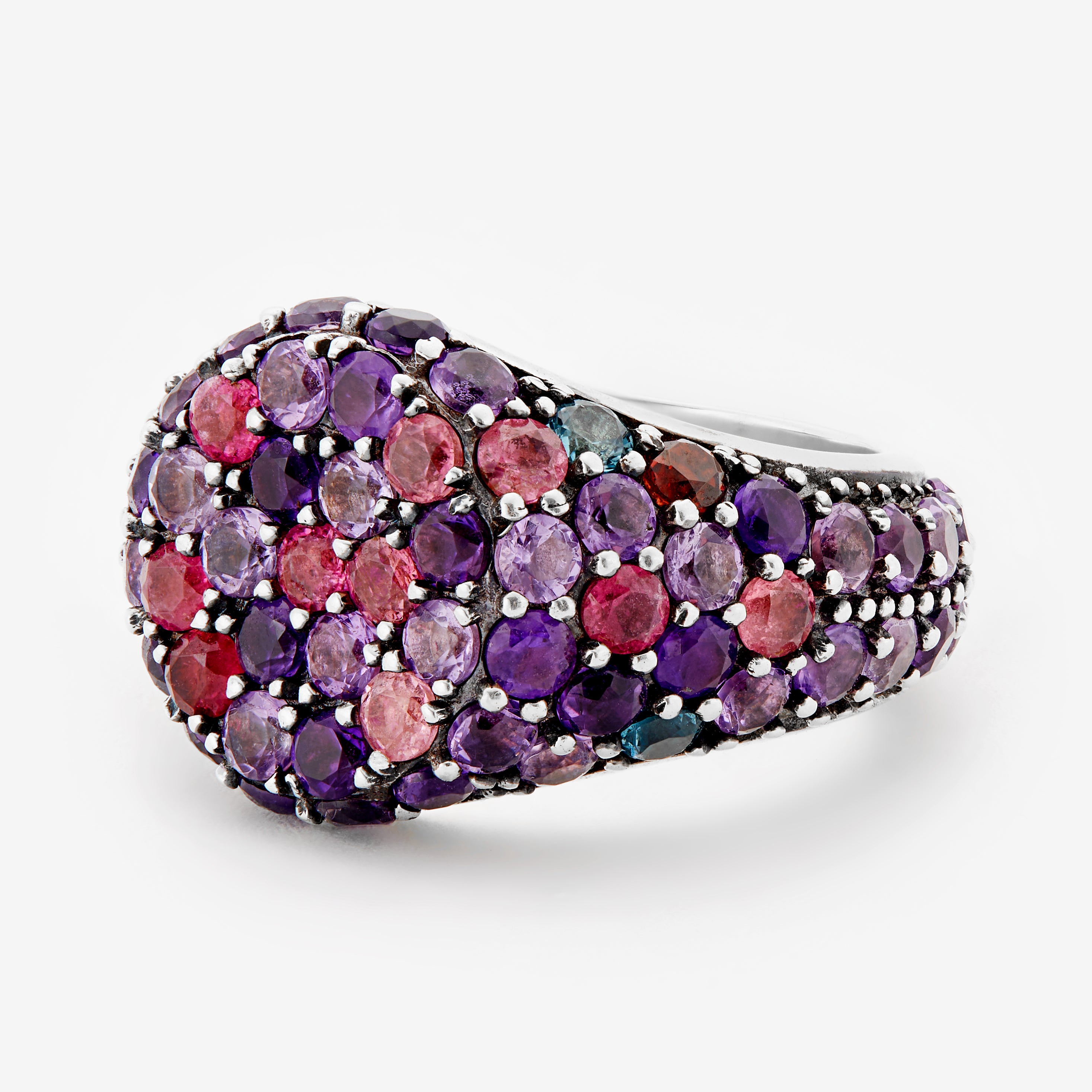 Purple Melange Ring