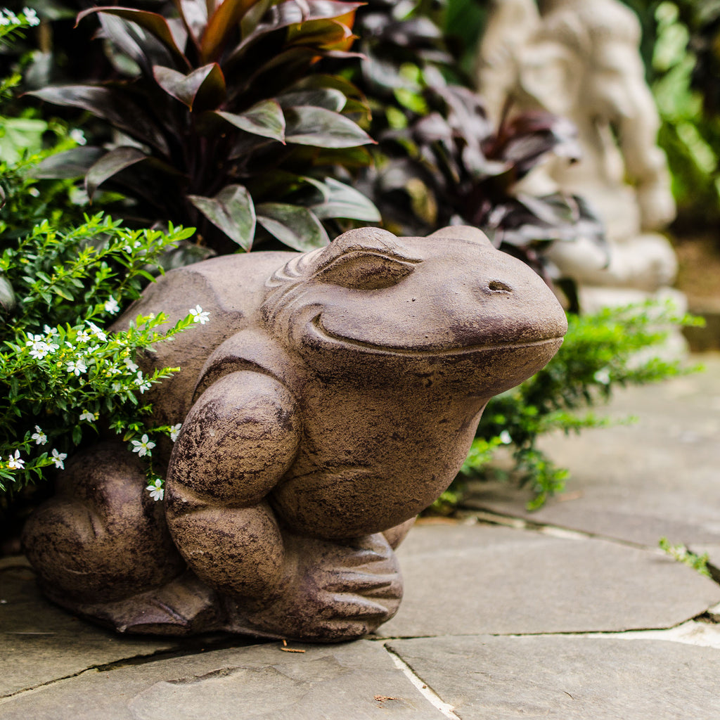 Antique Contented Toad