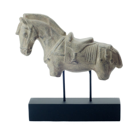 Antique Horse on Stand