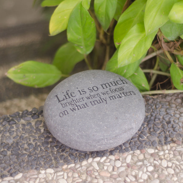 Do What You Love... Messenger Stone