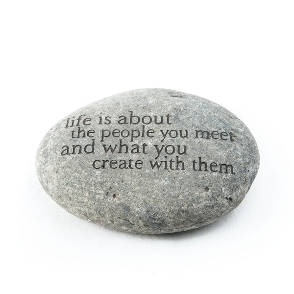 Life Is About... Messenger Stone