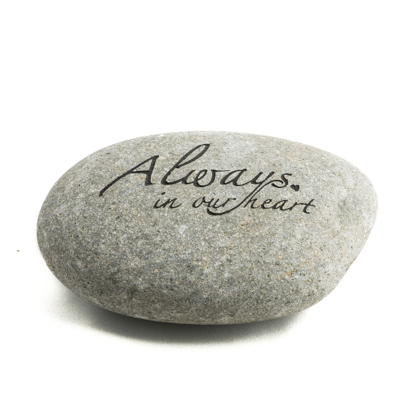 Always In Our Heart Messenger Stone