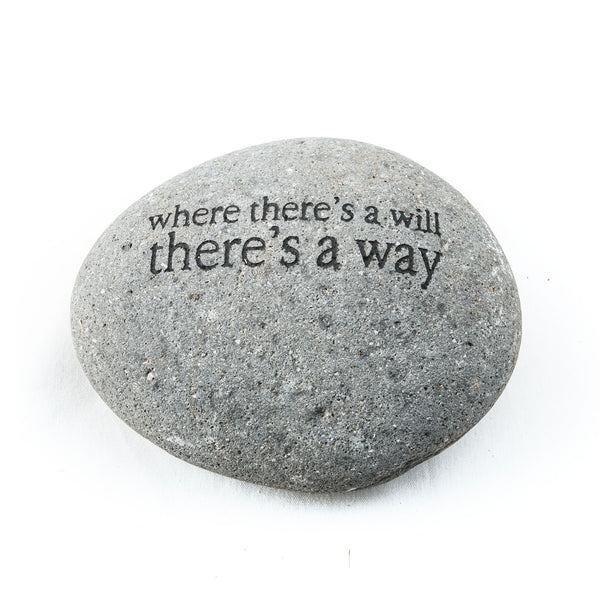 Where There's A Will… Messenger Stone