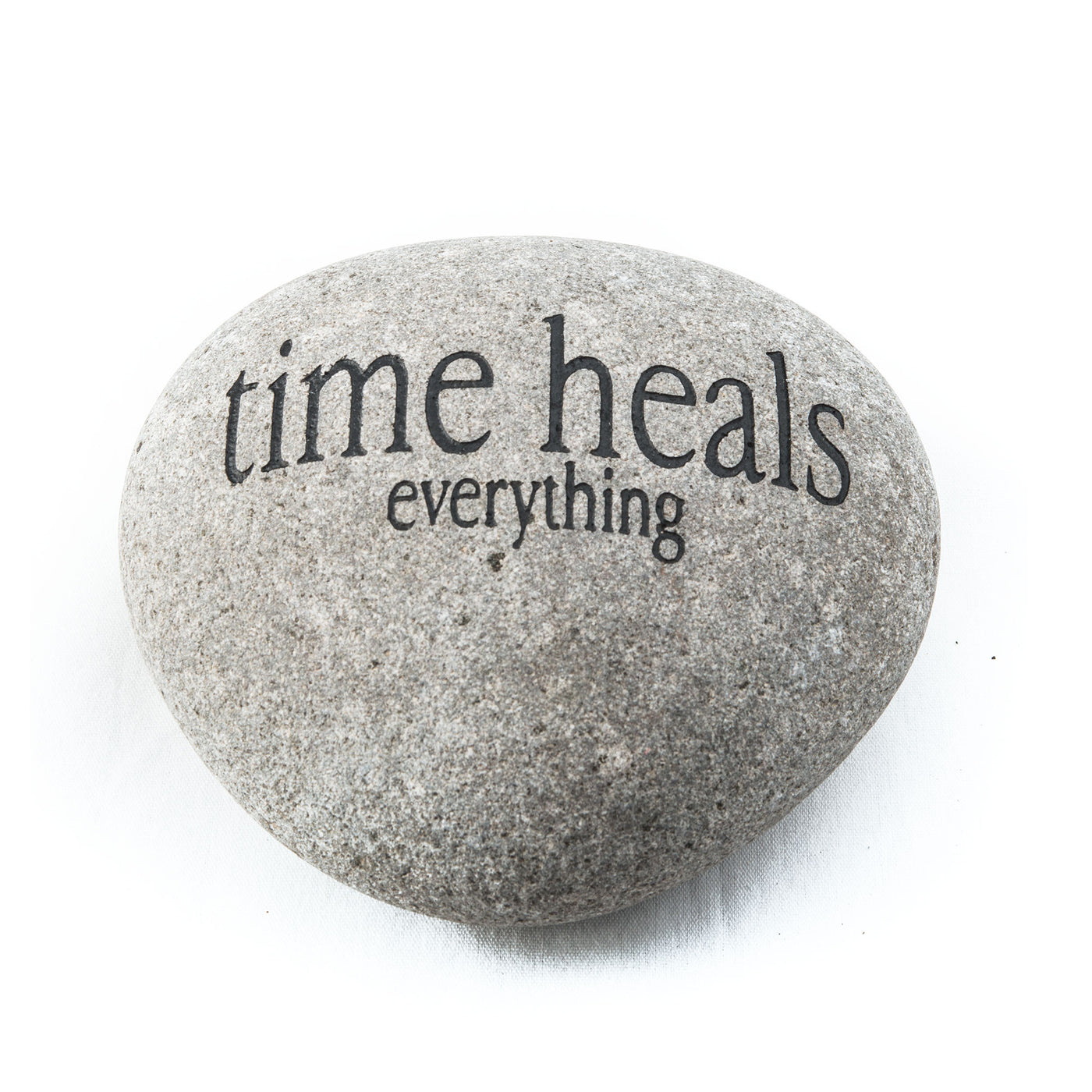 Time Heals Everything Messenger Stone