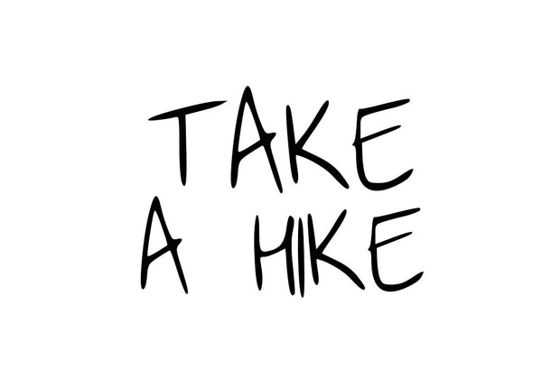 Take a Hike Messenger Stone