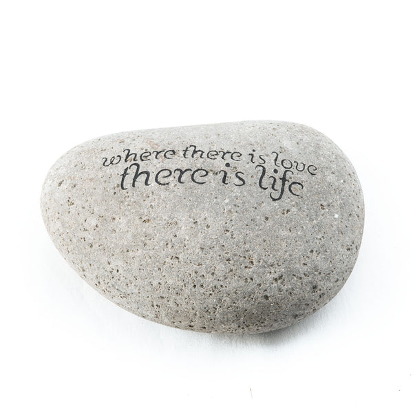 Where there is love... Messenger Stone